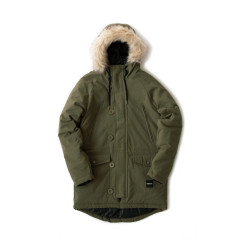Парка зимняя FOOTWORK AMUT PARKA OLIVE NIGHT