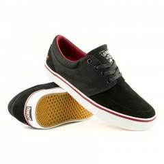 Кеды Slackers Detroit black/white/red
